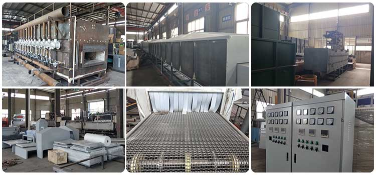 Brazing furnace factory